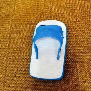 I Phone4s手機殼 藍白拖