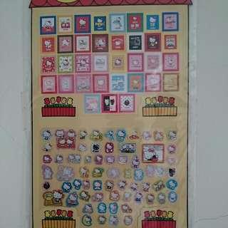 🚚 35週年Hello Kitty特別貼紙