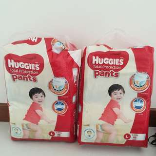 Huggies Total Protection pants Size L