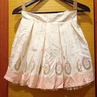 💟愛麗絲風格吊帶短裙