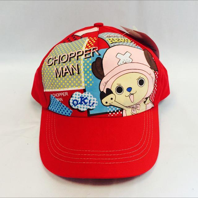 喬巴2 紅(代客訂製各式專屬帽子)潮流帽子 鴨舌帽 潮帽