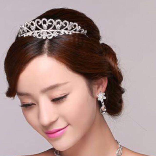 水鑽結婚頭飾-皇冠👑