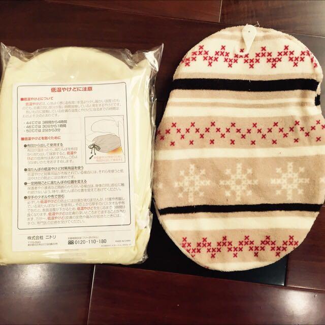 (保留)(全新)日本熱敷袋