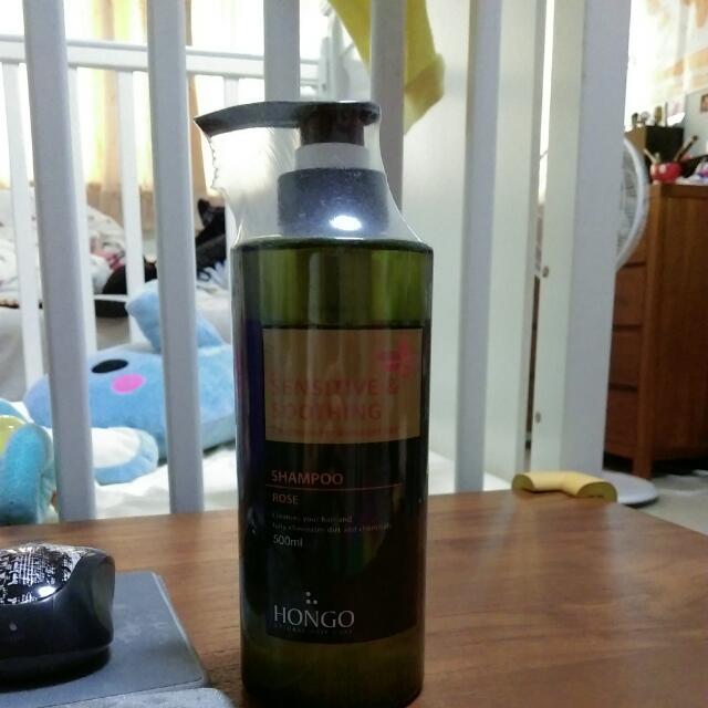 大馬士革玫瑰精油洗髮精(染燙髮質適用)