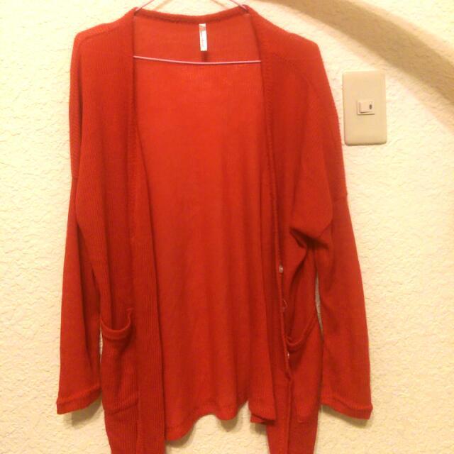 全新 紅色針織衫✨
