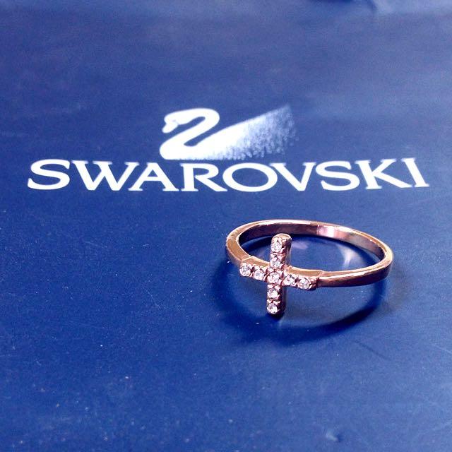 韓國訂製 玫瑰金 十字架 戒指 Forever21 H&m Pandora Juicy Couture 手環