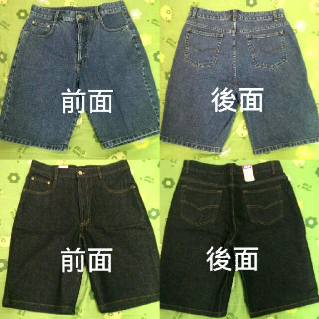 🎉全新 BLUE WAY復古五分牛仔褲(男)