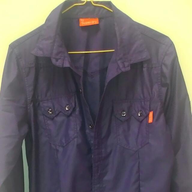 Dark Purple Shirt By Superdry