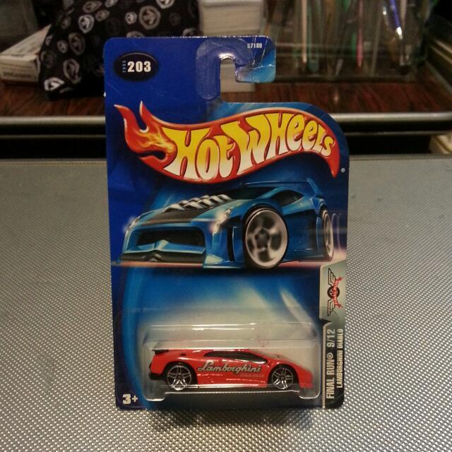 Hotwheels Lamborghini Diablo Final Run 2003 Toys Games On Carousell