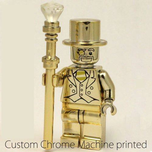 Lego Minifigures Series 10 - Custom Mr. Gold Replica, Toys & Games ...