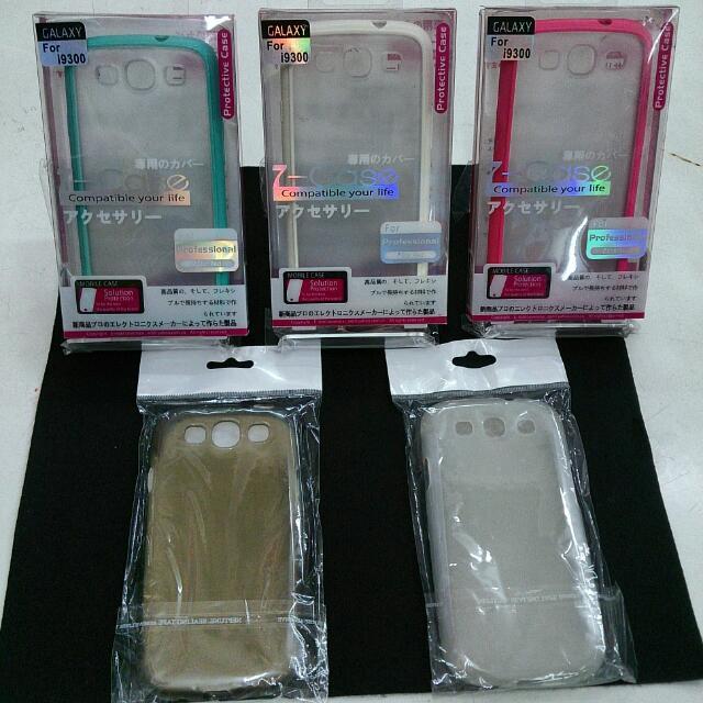 Samsung S III /i9300 手機殼背蓋.清水套