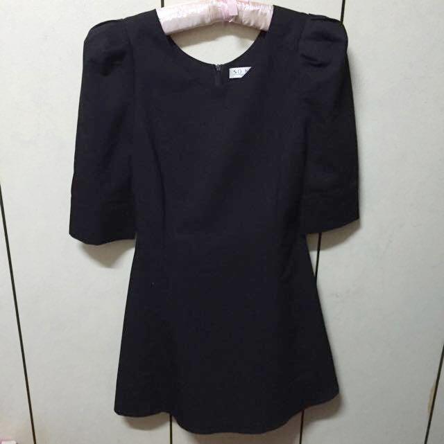 SO NICE 黑色裙子👗