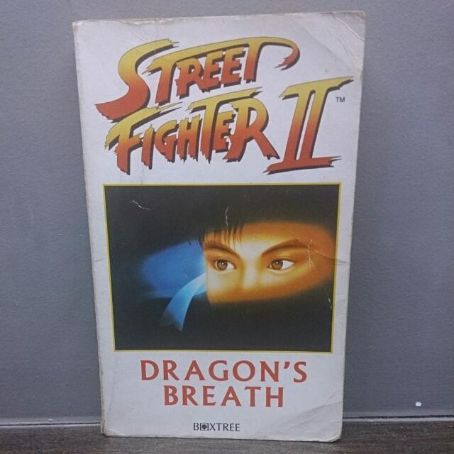 Street Fighter 2 Dragon Breath Novel Book