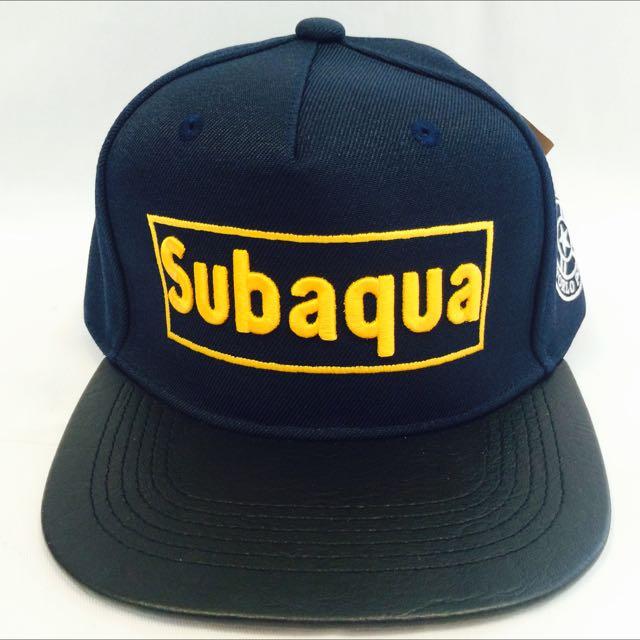 Subaqua 深藍(代客訂製各式專屬帽子)潮流帽子 鴨舌帽 潮帽