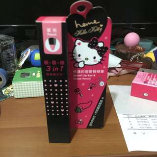 heme X Hello Kitty 眼唇頰筆 蜜桃(含運)