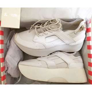 轉賣 Puzzle 白色 厚底鞋 香港 IT 購入 全新