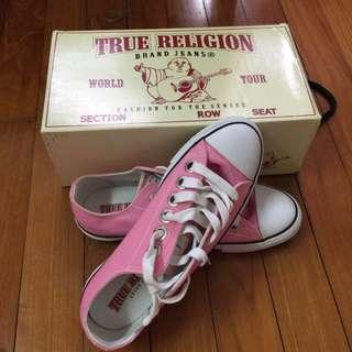 BN Pink Sneakers - True Religion