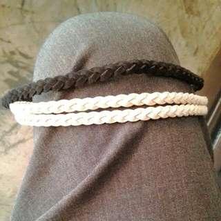 韓風編織款髮圈