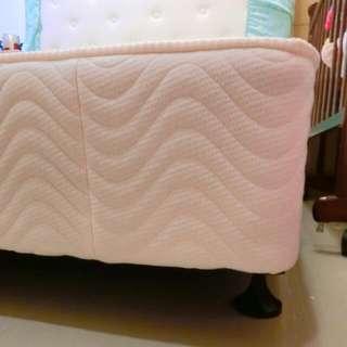 5*6雙人床下墊、彈簧下墊、彈簧床箱、弓型鋼下墊