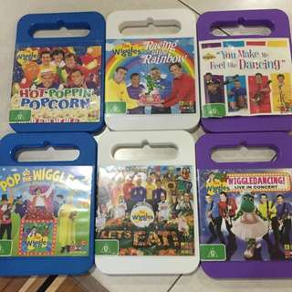 Wiggles Assorted DVD
