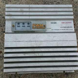 PWM 2 way Amplifier