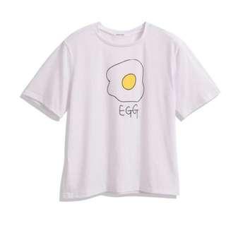 B1. 轉賣Queen shop Egg 荷包蛋棉質上衣