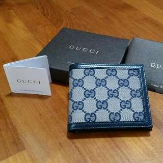 [BNIB] GUCCI Leather Wallet