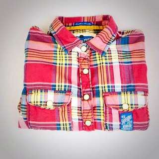 Superdry Crop top Flannel Shirt
