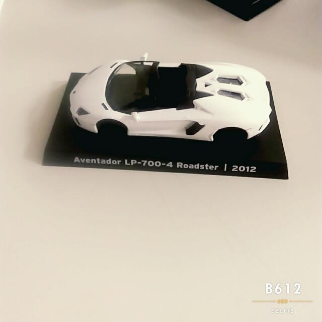 (換)7-11 藍寶堅尼模型車 4號