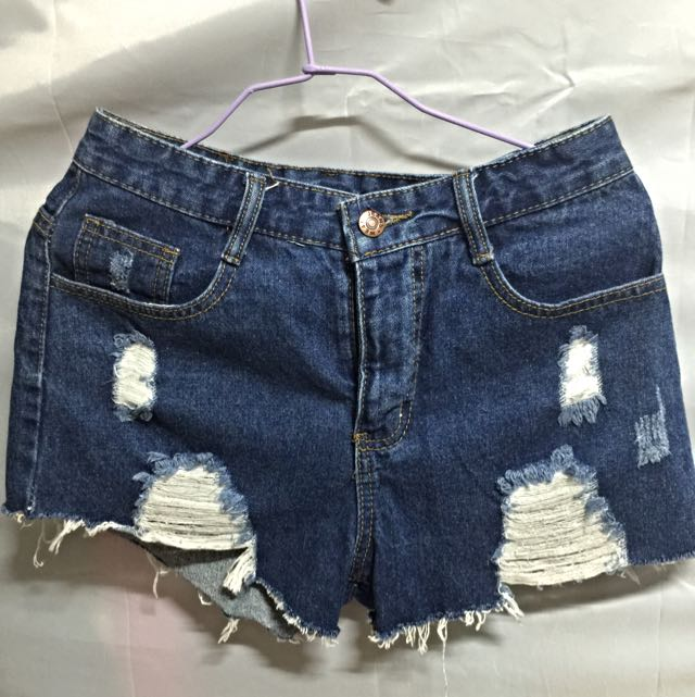 韓版款牛仔短褲