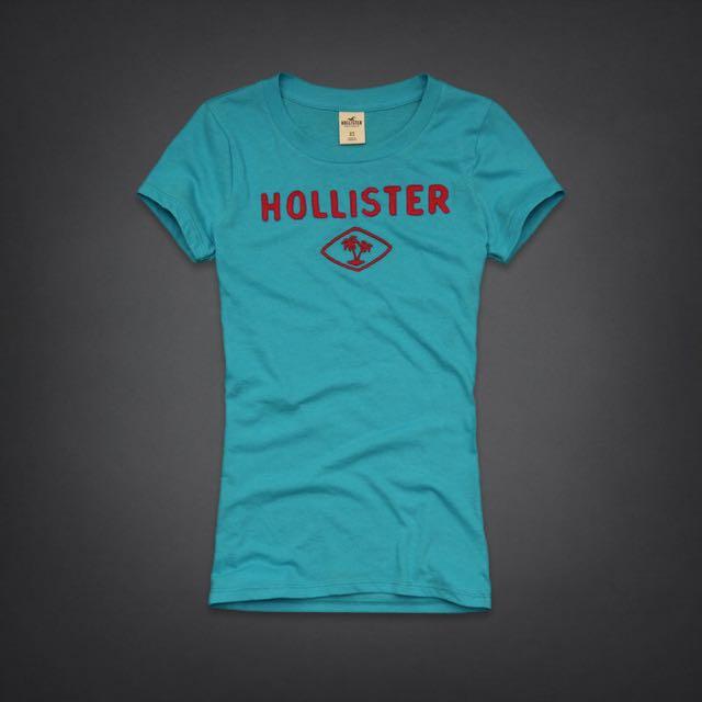 🌴🌴歐美原單 官網正品 Hollister女生短袖圓領T恤