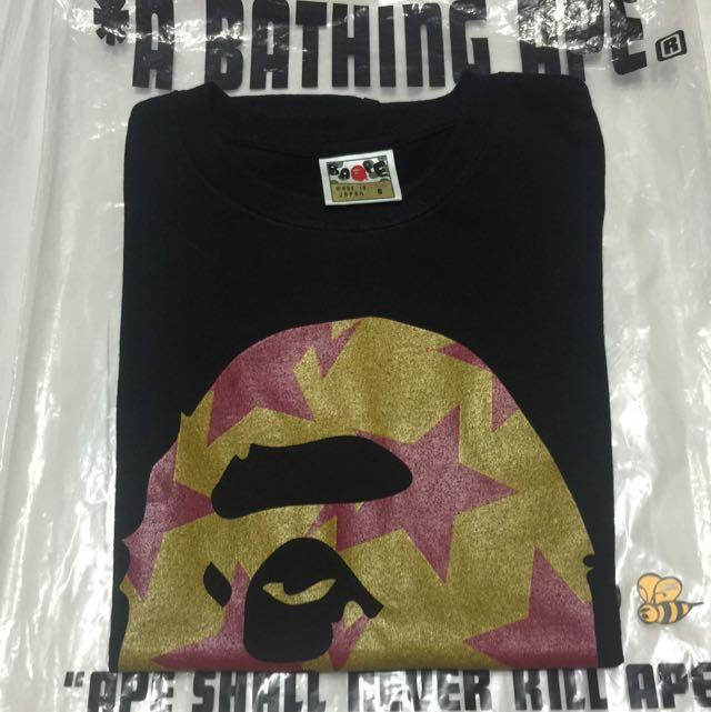 Ape 女生S號Tshirt