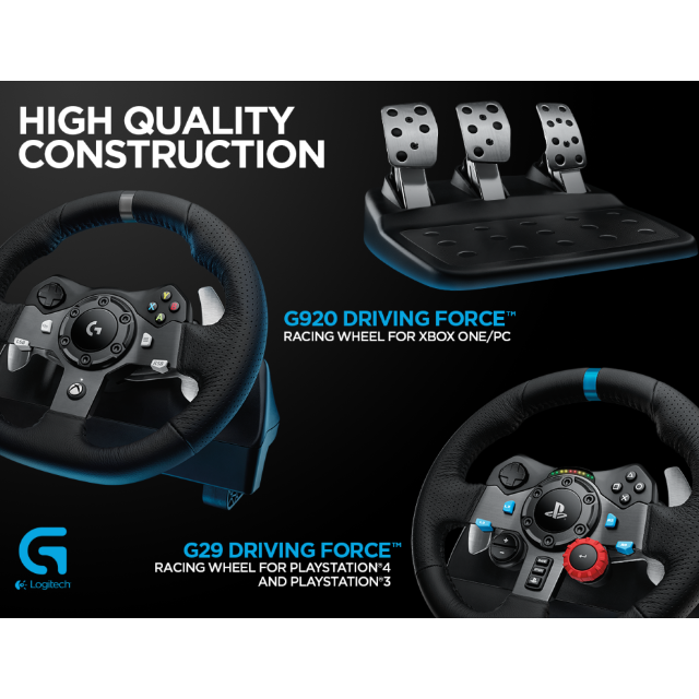 691b864728d Brand New Logitech G29 Driving Force Race Wheel (For PS4/PS3/PC ...