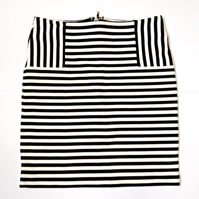 Kate Spade Inspired Striped Skirt