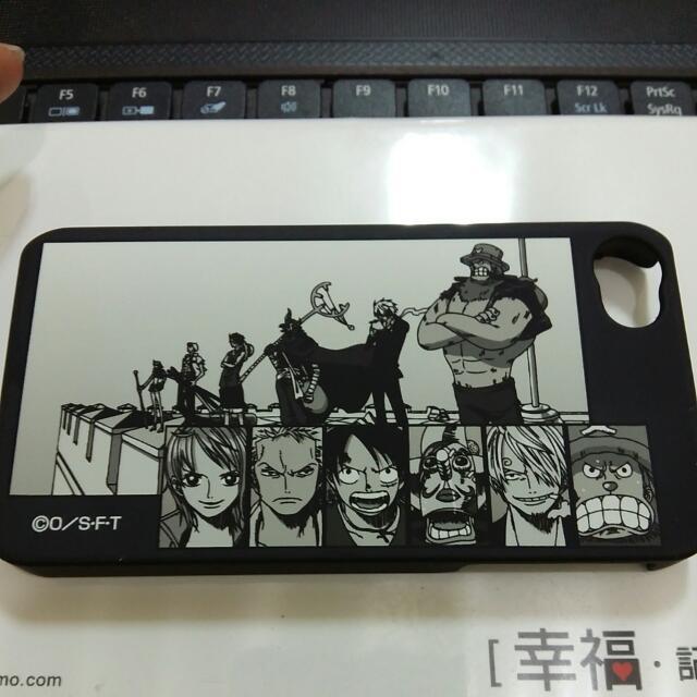 Iphone4/4s 手機保護殼 -海賊王
