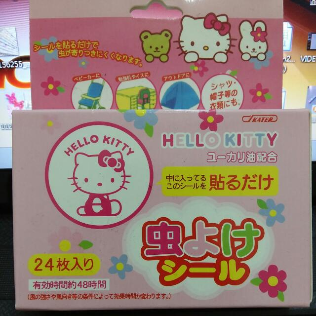 Kitty防蚊貼-日本制