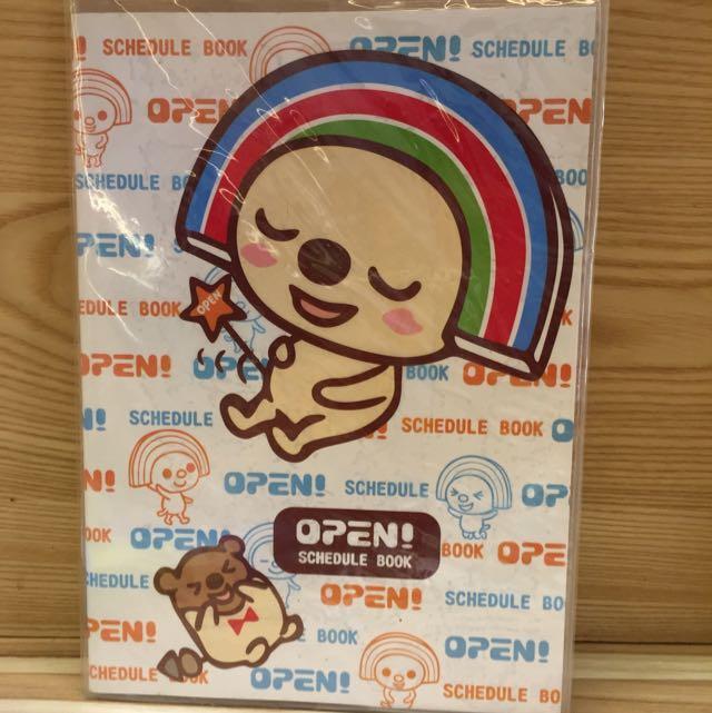 Open小將年曆手札