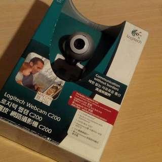 二手 羅技 C200 網路 攝影機