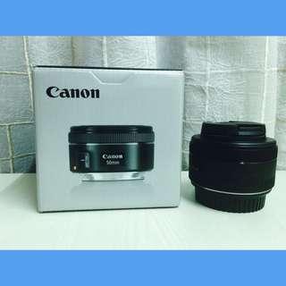 Canon EF-S 50mm F/1.8 STM Portrait Lens