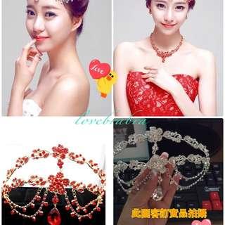 韓版新娘飾品🎉🎉🎉