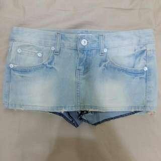 👉含運👈【二手】淺藍牛仔短褲裙