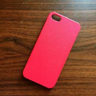 i5手機殼/素面粉色