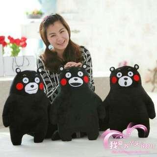 🚚 熊本熊三種款式吉祥物日本熊本縣黑熊