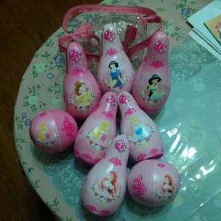 迪士尼公主寶齡球組