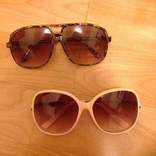 夏日必備 復古時尚太陽眼鏡(剩咖啡款)