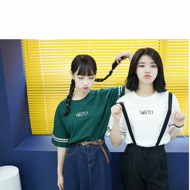 印字母 T Shirt