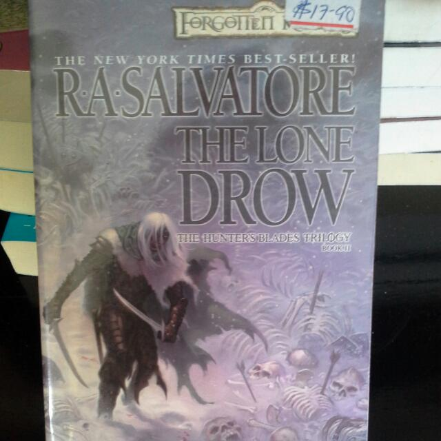 BN The Lone Dronw - R a salvatore