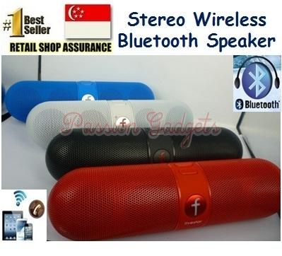 BT Speaker & Audio - Pill Capsule Bluetooth F-808 Wireless Speaker+Built-in  Battery