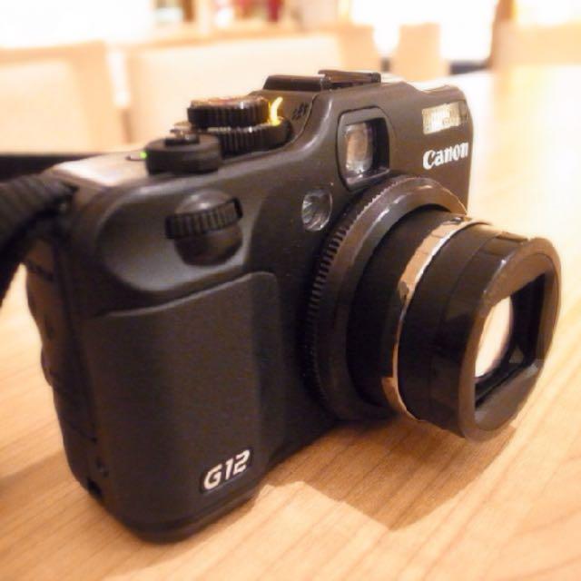 Canon G12可翻轉類單眼相機