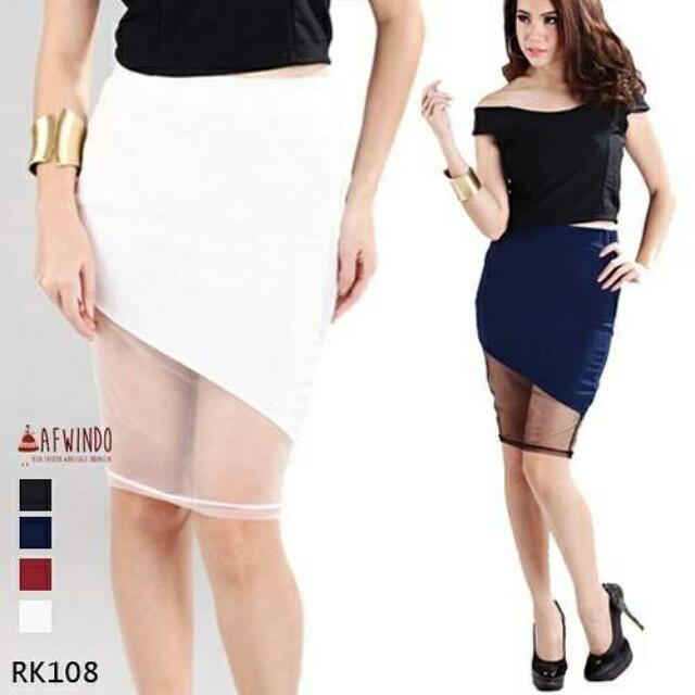 Contras Panel Skirt Rk108